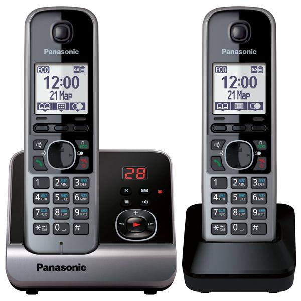 Радиотелефон DECT Panasonic KX-TG6722RUB