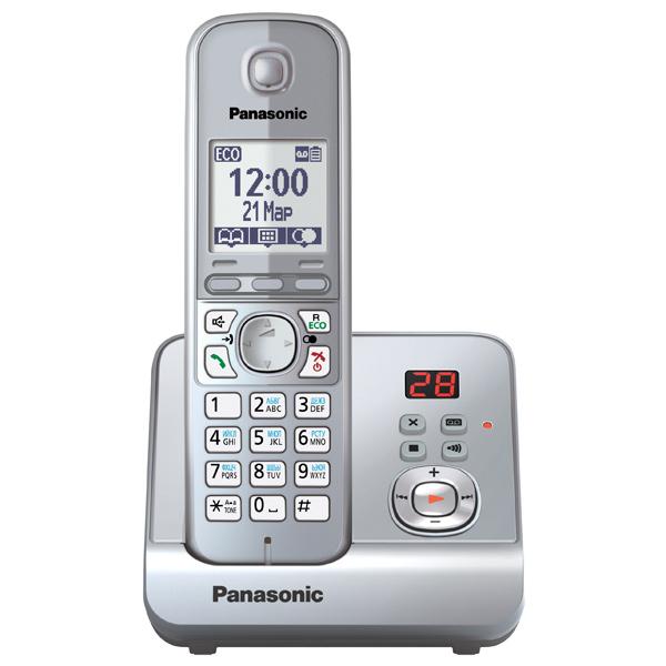Радиотелефон DECT Panasonic KX-TG6721RUS