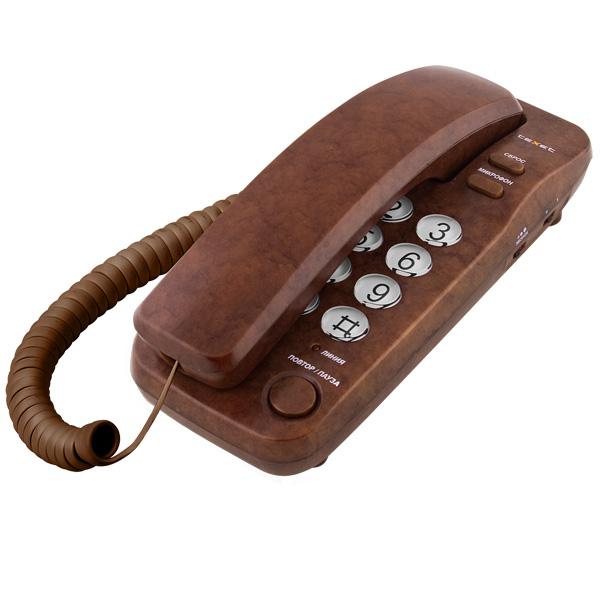 Телефон проводной teXet