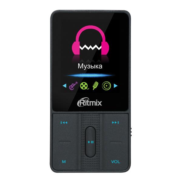 Портативный медиаплеер Ritmix RF4550 8Gb Black