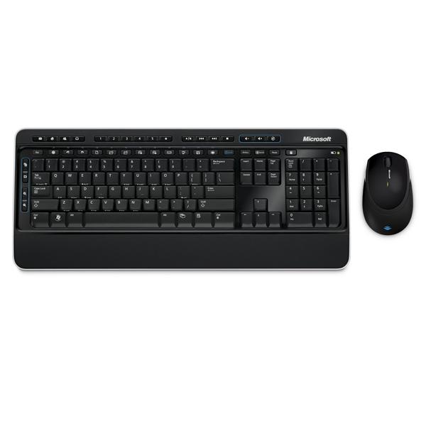 Комплект клавиатура+мышь Microsoft 1с учет компьютерной техники