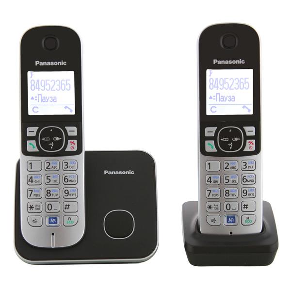 Телефон DECT Panasonic KX-TG6812RUB panasonic kx tg8061 rub dect телефон