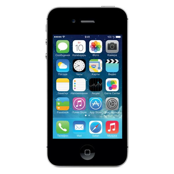 Смартфон Apple iPhone 4S 8Gb Black (MF265RU/A)  Москва, Екатеринбург, Уфа, Новосибирск
