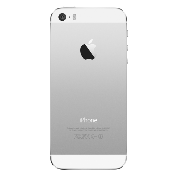 Купить Смартфон Apple iPhone 5S 16Gb Silver (ME433RU/A) недорого