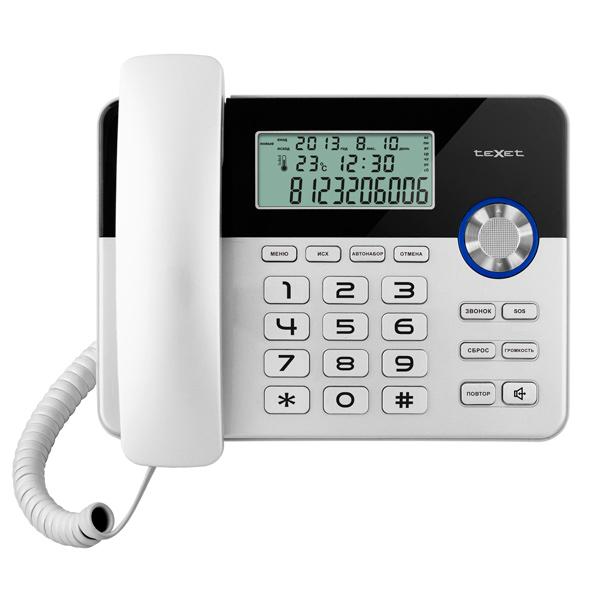 Телефон проводной texet tx 259 купить в м