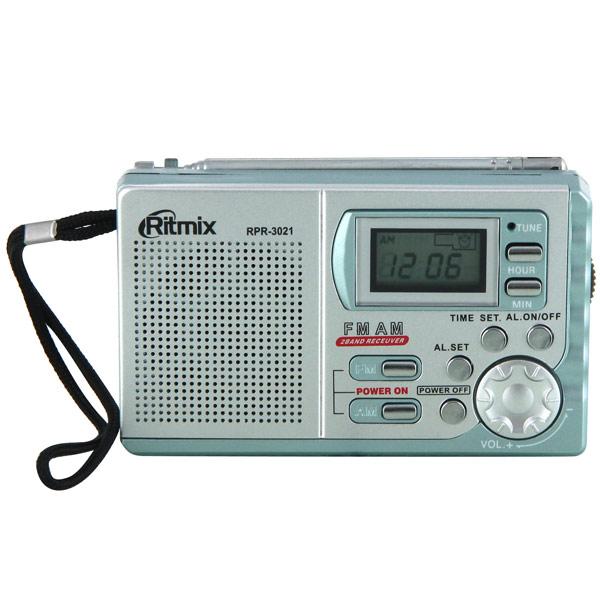 Радиоприемник Ritmix RPR-3021 Grey