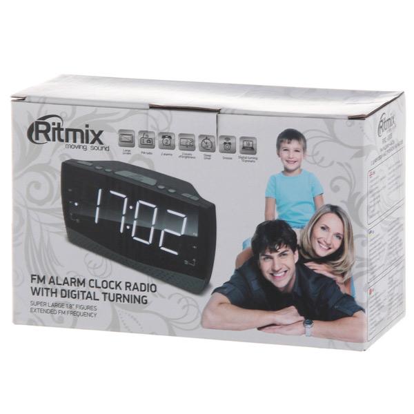 радиочасы ritmix rrc-1808 инструкция