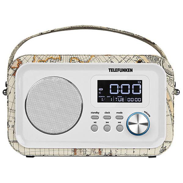 Радиоприемник Telefunken TF-1636U White