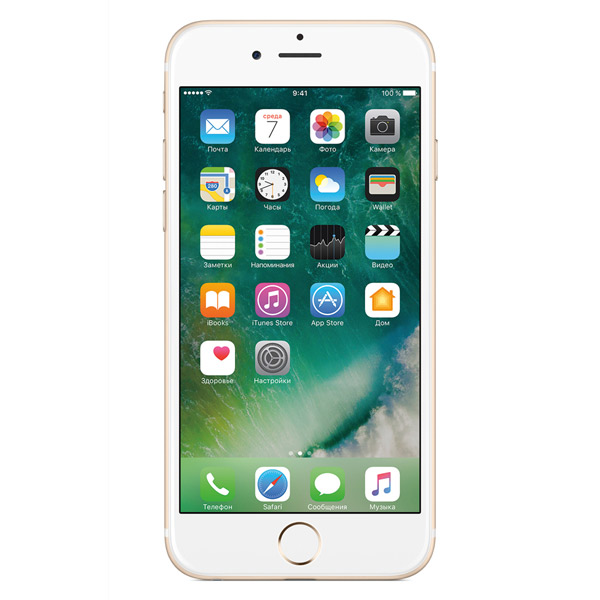 Смартфон Apple iPhone 6 16GB Gold (MG492RU/A). Доставка по России