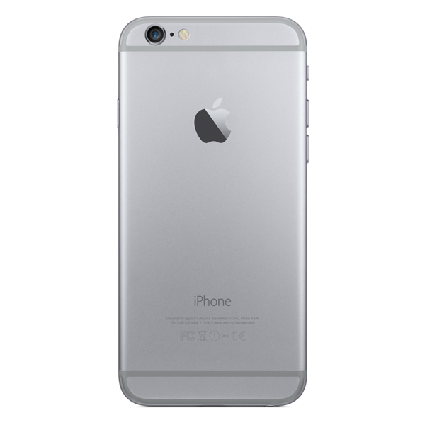 Купить Смартфон Apple iPhone 6 64GB Space Gray (MG4F2RU/A) недорого