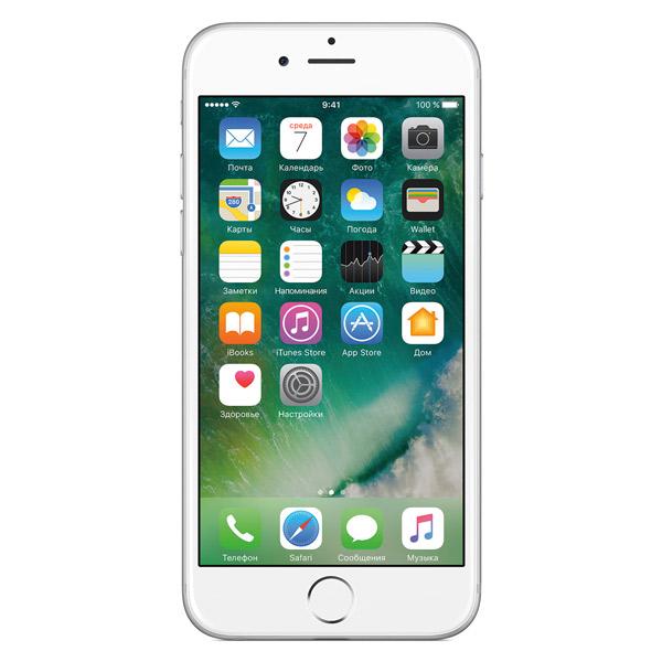 Смартфон Apple iPhone 6 64GB Silver (MG4H2RU/A). Доставка по России