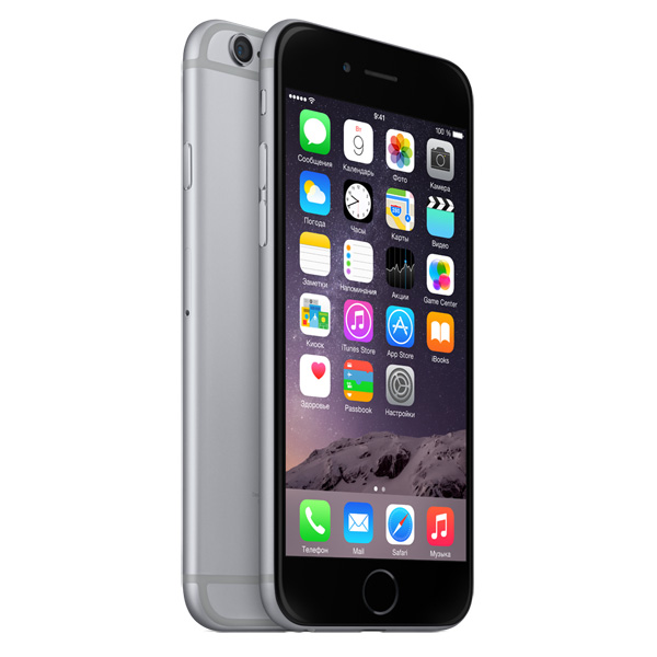 Купить Смартфон Apple iPhone 6 128GB Space Gray (MG4A2RU/A) недорого