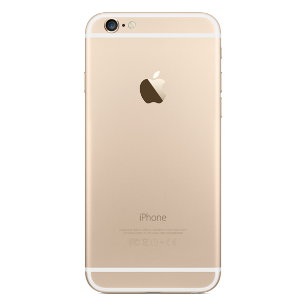 Купить Смартфон Apple iPhone 6 128GB Gold (MG4E2RU/A) недорого