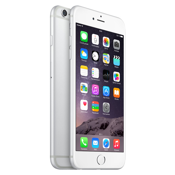 Купить Смартфон Apple iPhone 6 Plus 128GB Silver (MGAE2RU/A) недорого