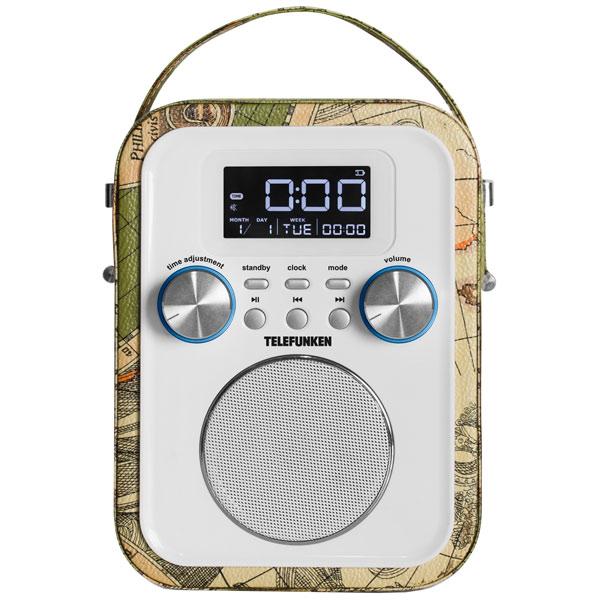 Радиоприемник Telefunken TF-1635U White