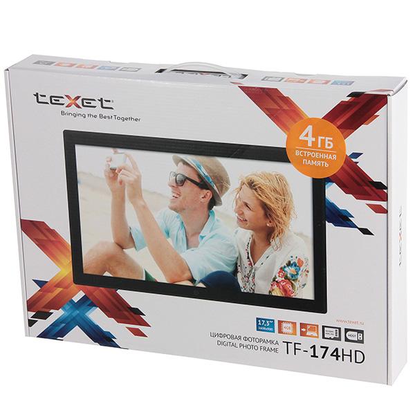 Купить Цифровая фоторамка teXet TF-174HD недорого