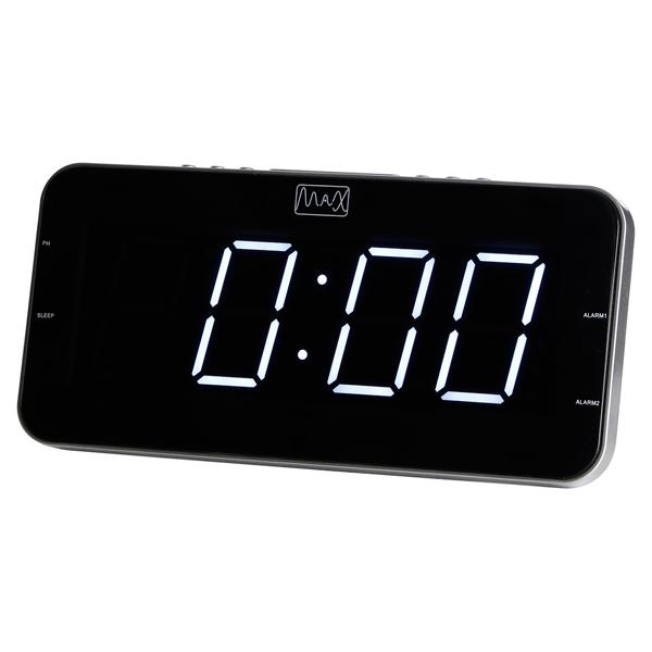 Радио-часы MAX CR 2904W