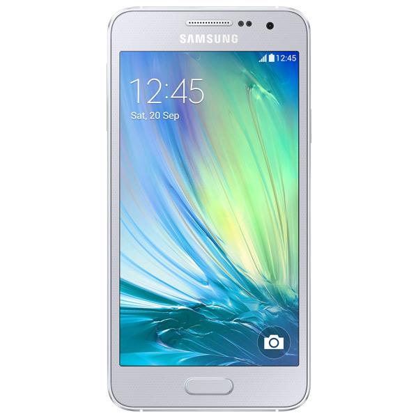 Смартфон Samsung Galaxy A3 SM-A300F Silver