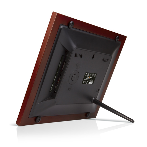 Купить Цифровая фоторамка teXet TF-106 Red недорого