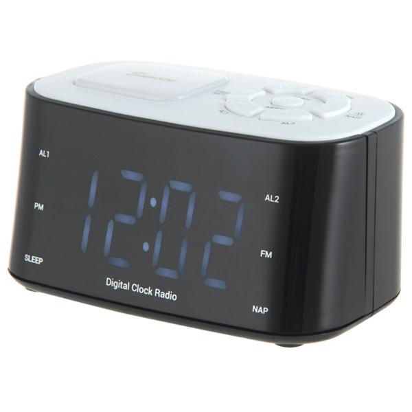 Радио-часы teXetРадио-часы<br>Габаритные размеры (В*Ш*Г): 87*140*74 мм,<br>Тип батареи для сохр.настроек: 2 x AA (LR 6),<br>Страна: КНР,<br>Цвет светящихся символов: голубой,<br>Вес: 454 г,<br>Цифровой тюнер: 20 FM,<br>Тип управления: электронный/механич.,<br>Блок питания: встроенный,<br>Встроенные часы: Да,<br>Звук: моно,<br>Питание от сети 220 В: Да,<br>Вид гарантии: гарантийный талон,<br>Цвет: черный,<br>Материал корпуса: пластик,<br>Цифровой дисплей: 1,<br>Будильник: 2<br><br>Вес г: 454<br>Цвет : черный