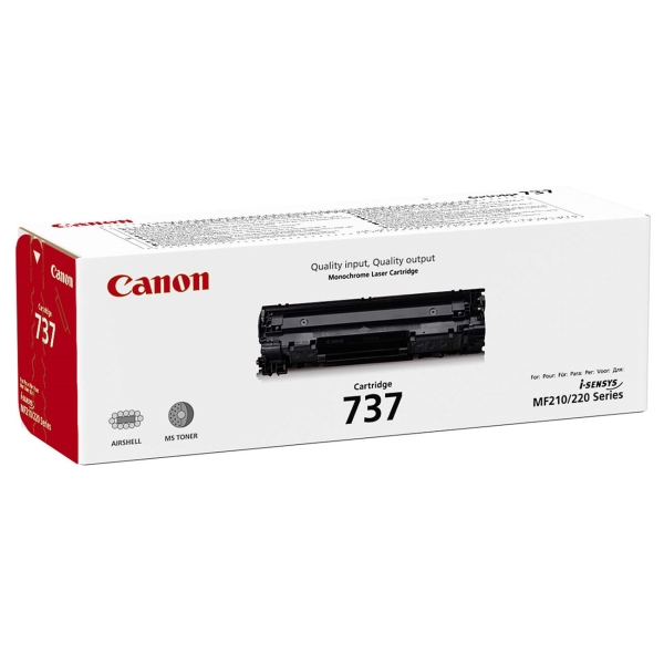 Картридж для лазерного принтера Canon 737 Bk