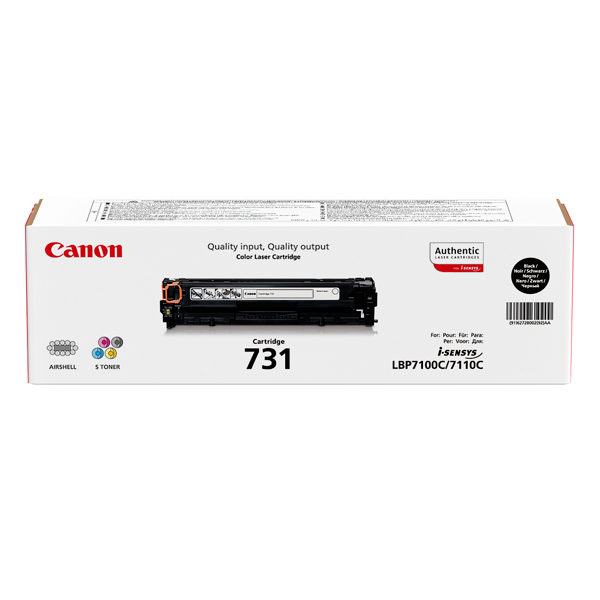 Картридж для лазерного принтера Canon 731 BK