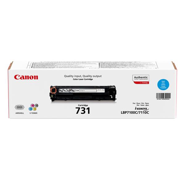Картридж для лазерного принтера Canon 731 C картридж canon 732c голубой [6262b002]