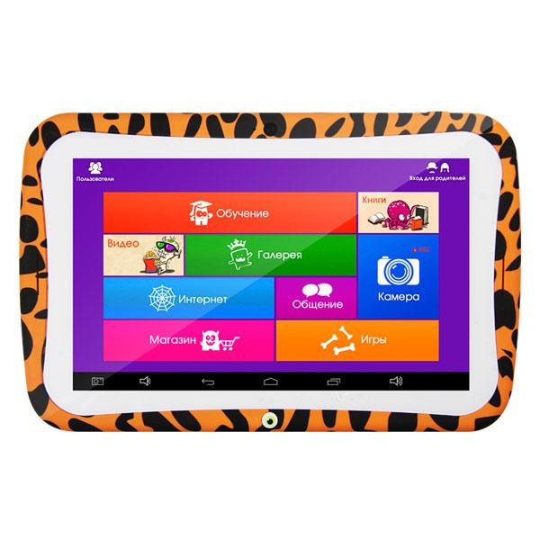 "Планшетный компьютер для детей Turbo MonsterPad 7"" 8Gb Wi-Fi Orange"