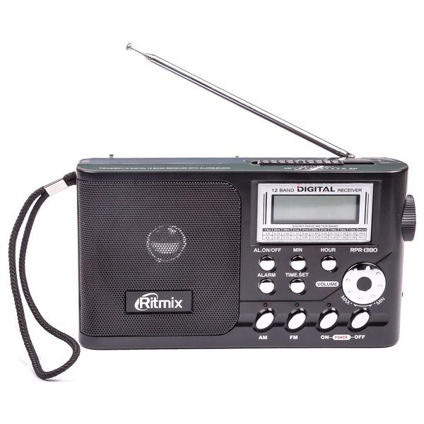 Радиоприемник Ritmix RPR-1380 Black