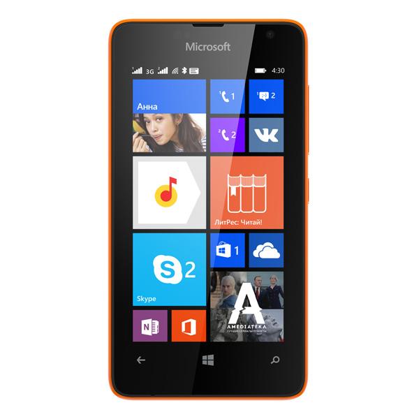 Смартфон Microsoft Lumia 430 Bright Orange. Доставка по России