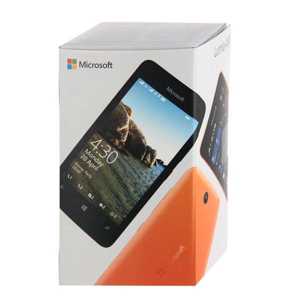 Купить Смартфон Microsoft Lumia 430 Bright Orange недорого