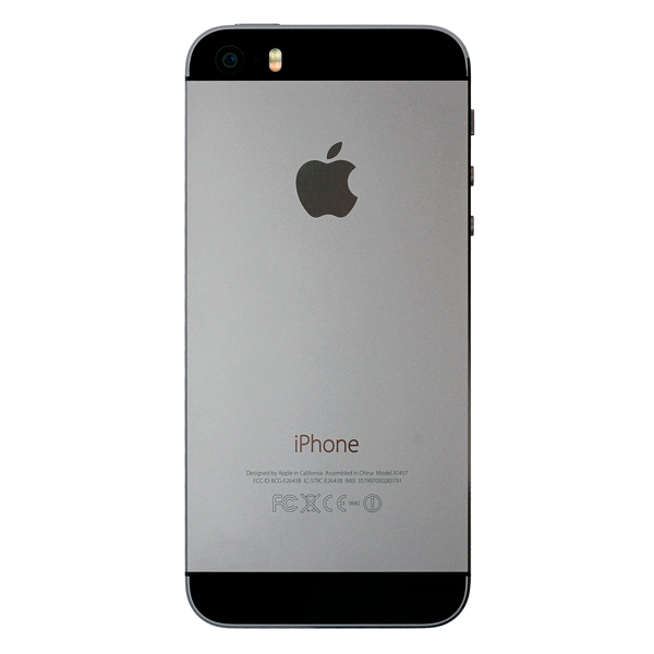 Купить Смартфон Apple iPhone 5S 16Gb Space Gray (FF352RU/A) восстановл. недорого