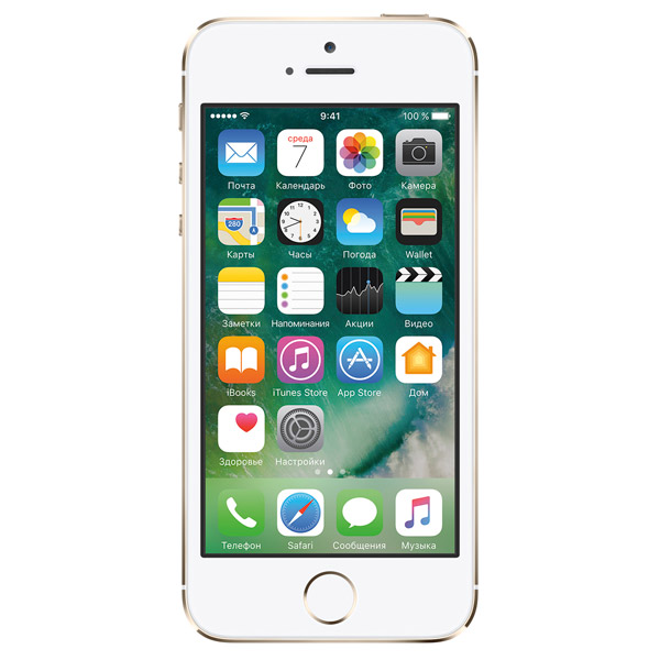 Смартфон Apple iPhone 5S 16Gb Gold (FF354RU/A) восстановленный. Доставка по России