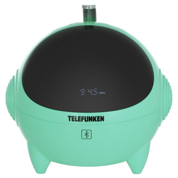 Радиоприемник TelefunkenРадиоприемники<br>Ручка для переноски: Да,<br>Разъем USB 2.0 тип A: 1,<br>Звук: стерео,<br>Материал корпуса: пластик,<br>Тип управления: электронный,<br>Кабель USB: доп.опция,<br>Вход 3.5 мм аудио: 1,<br>Габаритные размеры (В*Ш*Г): 140*140*140 мм,<br>Цифровой тюнер: 50FM,<br>Страна: КНР,<br>Дистанционное управление: полное,<br>Вес: 690 г,<br>Зарядка от USB порта: Да,<br>Вид гарантии: гарантийный талон,<br>Цифровой дисплей: 1,<br>Тип карты памяти: SD, SDHC,<br>Блок питания: в комплекте,<br>Встроенный модуль Bluetooth: 2.1+EDR,<br>Воспр. MP3 с цифр. носителей: Да<br>