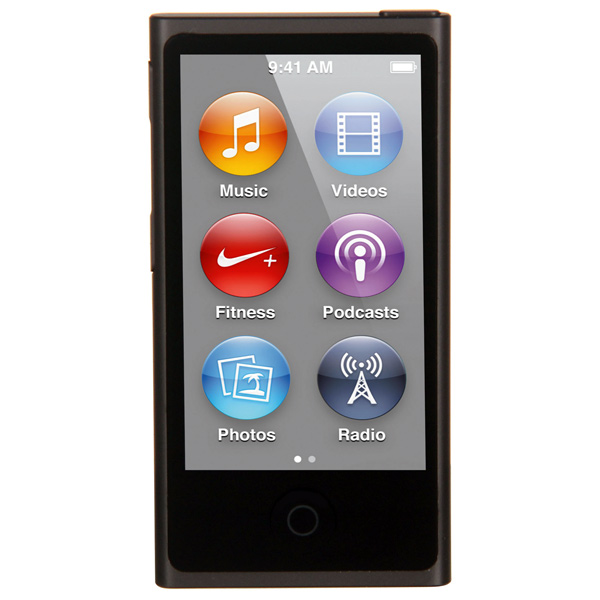 Плеер MP3 Apple iPod Nano 16GB Space Gray (MKN52RU/A) apple ipod nano chromatic 4g 8gb