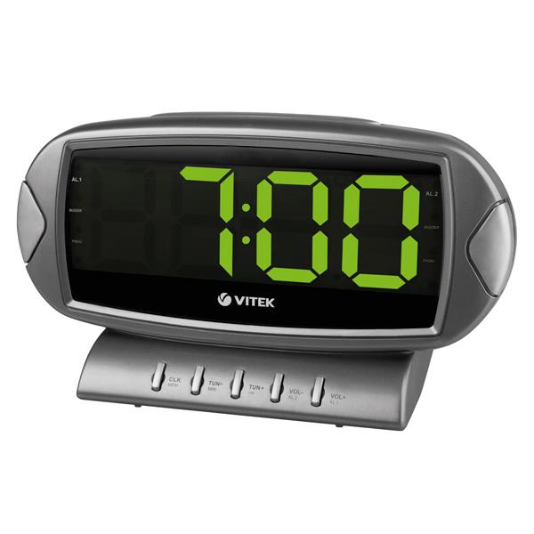 Радио-часы VITEK VT-3512 GY