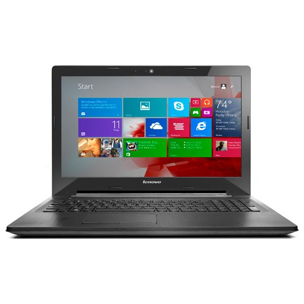 Ноутбук LenovoНоутбуки<br>Bluetooth (версия): 4.0,<br>Количество ядер: 2,<br>Высота: 25 мм,<br>Цвет: черный,<br>Разъем Kensington Lock: Да,<br>Тип процессора: Core i3-4030U 1.9ГГц,<br>Базовый цвет: черный,<br>Количество слотов памяти : 1,<br>Производитель процессора: Intel,<br>Разъем для наушн./микрофона 3.5мм: 1,<br>Порт USB 2.0 тип A: 2 шт,<br>Серия: IdeaPad G50,<br>Поддержка Gigabit LAN: Да,<br>Разрешение матрицы: 0.3 МПикс,<br>Графический контроллер: Intel HD Graphics 4400,<br>Вид гарантии: по чеку,<br>Емкость аккумулятора: 2200 мАч<br><br>Вес кг: 2.5<br>Ширина мм: 384<br>Глубина мм: 265<br>Высота мм: 25<br>Цвет : черный