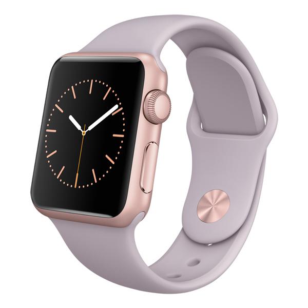 �����-���� Apple Watch Sport 38mm Rose Gold Al/Lavender(MLCH2RU/A)