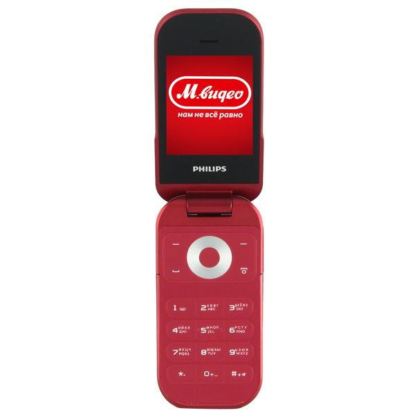 Мобильный телефон PhilipsТелефоны мобильные<br>Технология дисплея: IPS,<br>Тех. изготовления внеш. дисплея: OLED,<br>Встроенный интернет браузер: Да,<br>Встроенный модуль Bluetooth: Да,<br>Калькулятор: Да,<br>Дата / время: Да,<br>Цвет: красный,<br>Передача данных: GPRS,<br>Высота: 107 мм,<br>Будильник: 1,<br>Секундомер: Да,<br>Встроенный диктофон: Да,<br>Ширина: 51 мм,<br>Глубина: 17 мм,<br>Макс. емкость карты памяти: 16 ГБ,<br>Материал корпуса: пластик,<br>Формат аудио: MP3/ AAC,<br>Кабель для связи с ПК: в комплекте,<br>Тип SIM карты: mini-SIM,<br>Цвет светящихся символов: белый<br>