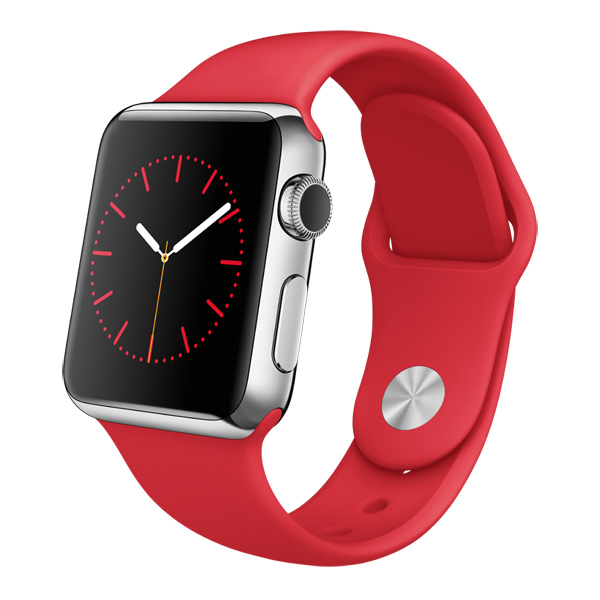 �����-���� Apple Watch 38mm St.Steel/(PRODUCT)RED (MLLD2RU/A)