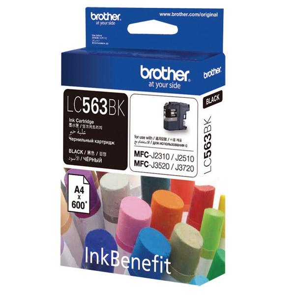 Картридж для струйного принтера Brother LC563BK