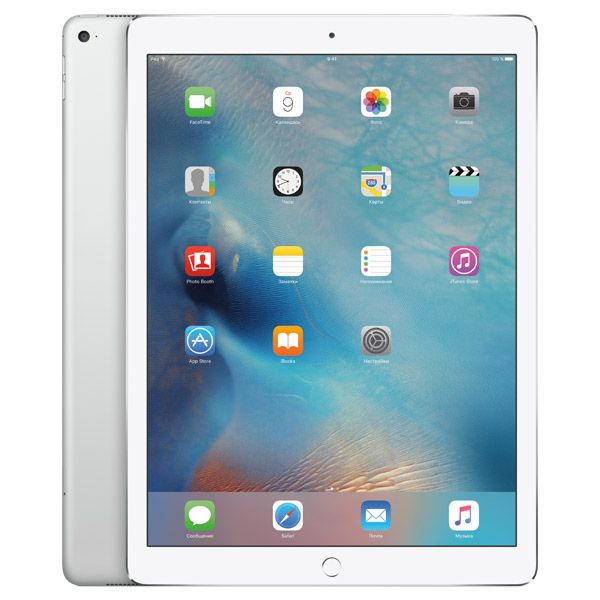 Планшет Apple iPad Pro 128GB Wi-Fi + Cellular Silver(ML2J2RU/A)