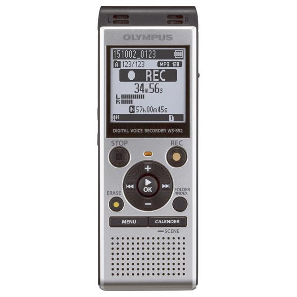Диктофон цифровой OlympusЦифровые диктофоны<br>Встроенный микрофон: 2,<br>Ширина: 39 мм,<br>Глубина: 18 мм,<br>Частотный диапазон: 40 Гц - 17 кГц,<br>Высота: 112 мм,<br>Вид гарантии: по чеку,<br>Цифровая карта памяти: Да,<br>Макс. емкость карты памяти: 32 ГБ,<br>Цвет: серебристый,<br>Кабель аудио 3.5 мм - 3.5 мм: доп.опция,<br>Разъем для микрофона 3.5 мм: 1,<br>Диагональ дисплея: 1.61 ,<br>Вес: 77 г,<br>Воспроизведение MP3: Да,<br>Цифровой дисплей: 1,<br>Разъем для наушников 3.5 мм: 1,<br>Работа от батареи: до 110 часов,<br>Активизация голосом: Да,<br>Разъем под microSD/microSDHC: 1<br>