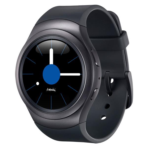 Смарт-часы SamsungСмарт-часы<br>Встроенный микрофон: 1,<br>Технология дисплея: Super AMOLED,<br>Диагональ/разрешение: 1.2/360х360 пикс.,<br>Ремень на руку: 2 в комплекте,<br>Вид гарантии: гарантийный талон,<br>Вибросигнал: Да,<br>Цифровой компас: Да,<br>Габаритные размеры (В*Ш*Г): 43*50*12 мм,<br>Водоустойчивый корпус: Да,<br>Гарантия: 1 год,<br>Зарядное устройство в комплекте: Да,<br>Модель: SM-R720,<br>Управление голосом: Да,<br>Тип аккумулятора: встроенный Li-Ion,<br>Макс. время работы: до 3 дней,<br>Тип дисплея: цветной,<br>Страна: Вьетнам,<br>Емкость аккумулятора: 250 мАч<br>