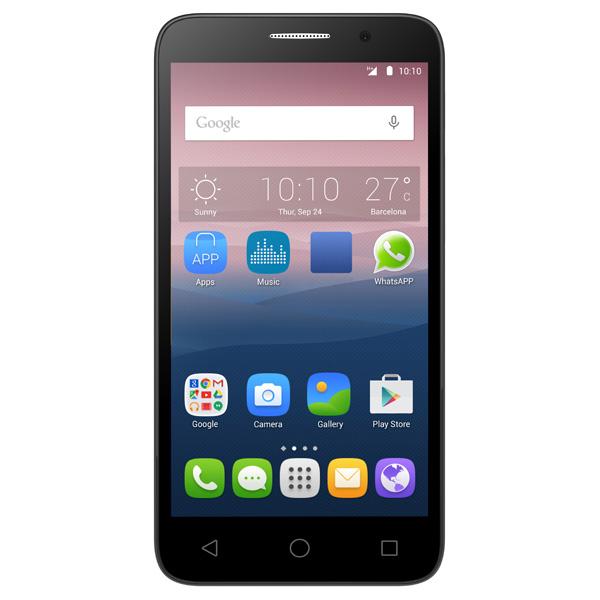 Смартфон Alcatel POP 3 5015D Soft Silver Black
