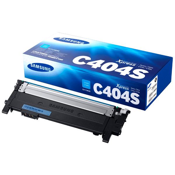 Картридж для лазерного принтера SamsungКартриджи для лазерных принтеров<br>Картриджей в комплекте: 1,<br>Цвет порошка: голубой,<br>Цветной картридж: Да,<br>Номер картриджа: CLT-C404S/XEV,<br>Ресурс картриджа (A4): 1000 страниц<br>
