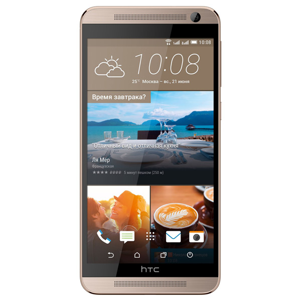 Смартфон HTC One E9+ Dual Sim Delicate Rose htc one e9s dual sim каштановый