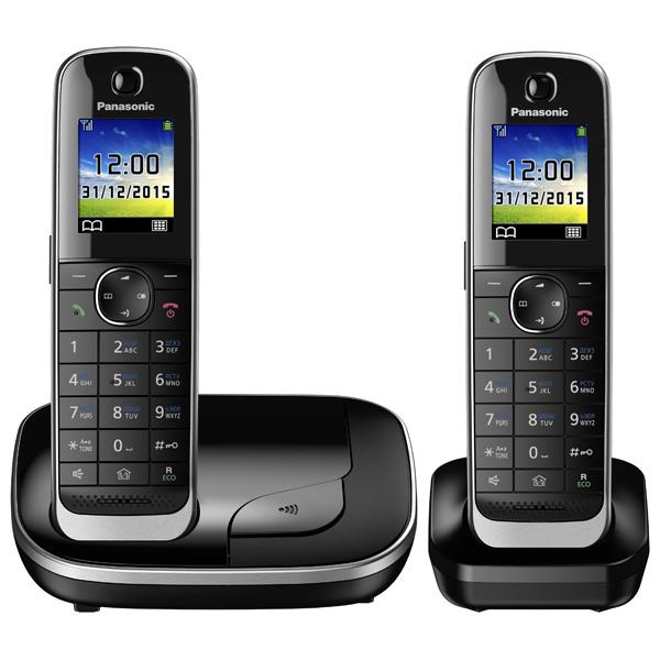 Радиотелефон DECT Panasonic KX-TGJ312RUB