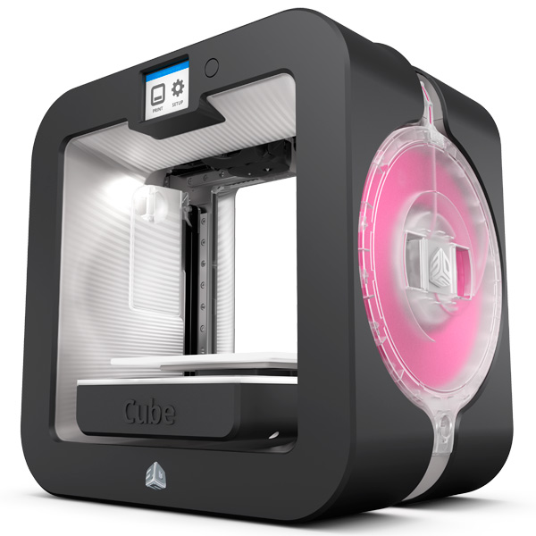 3D-принтер 3D Systems Cube 3 Grey 391100