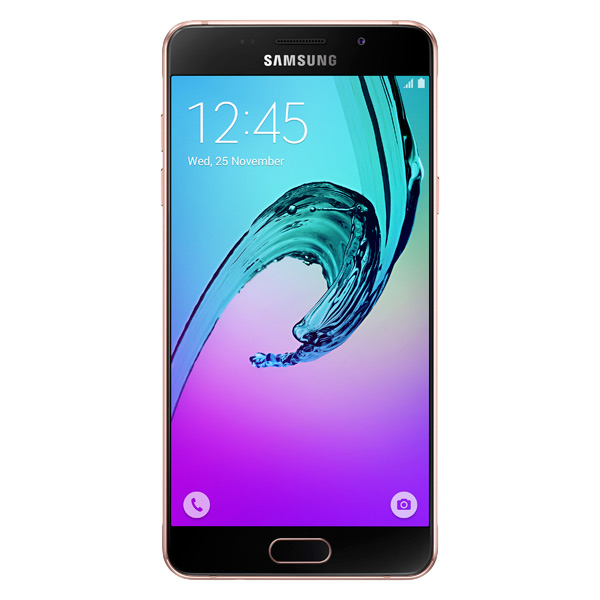 Смартфон Samsung Galaxy A5 (2016) Pink Gold ( SM-A510F) смартфон samsung galaxy a5 sm a510f pink gold android 5 1 7580 1600mhz 5 2 1920x1080 2048mb 16gb 4g lte [sm a510feddser]